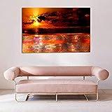 Zoom IMG-2 arte moderna della parete tramonto
