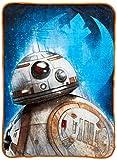 Jay Franco Star Wars Ep 8 Resistance Throw Blanket, Blue