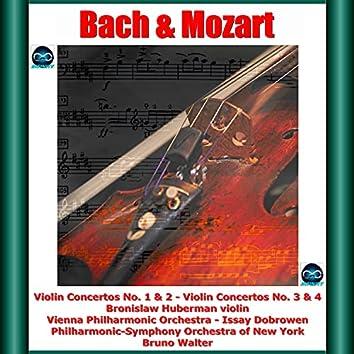 Bach & Mozart: Violin Concertos No. 1 & 2 - Violin Concertos No. 3 & 4