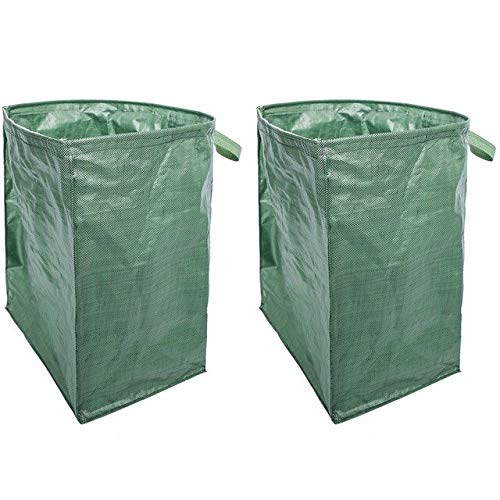 Great Deal! AloPW Yard Waste Bags Botique-Multi-Functional Reusable Heavy-Duty Garden Handbag Large-...