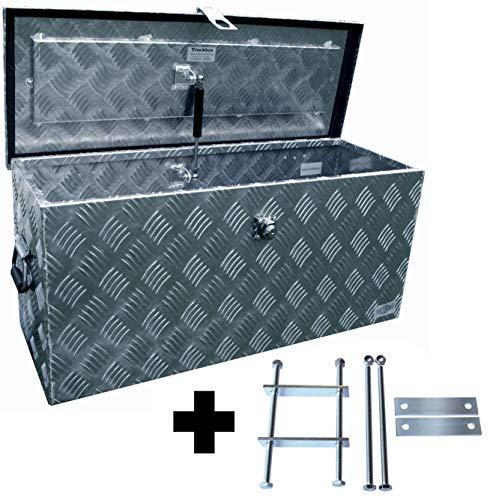 Preisvergleich Produktbild Truckbox D080 + MON2012 Werkzeugkasten,  Deichselbox,  Transportbox,  Alubox,  Alukoffer