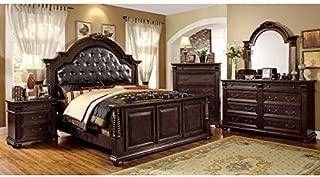 247SHOPATHOME Bedroom set, King, Cherry