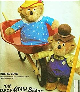McCall's 9325 or 753 Craft Pattern, The Berenstain Bears: 13 Inch Mama and Papa Stuffed Bear Toys