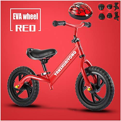 CHRISTMAD Bicicleta De Equilibrio | Manillar Ajustable Y Altura del Asiento |...