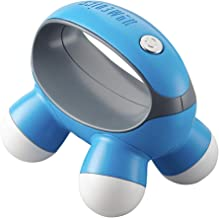 HoMedics, Quatro Mini Hand-Held Massager with Hand Grip, Battery Operated Vibration Massage, 4 Massage Nodes, Powered by 2...