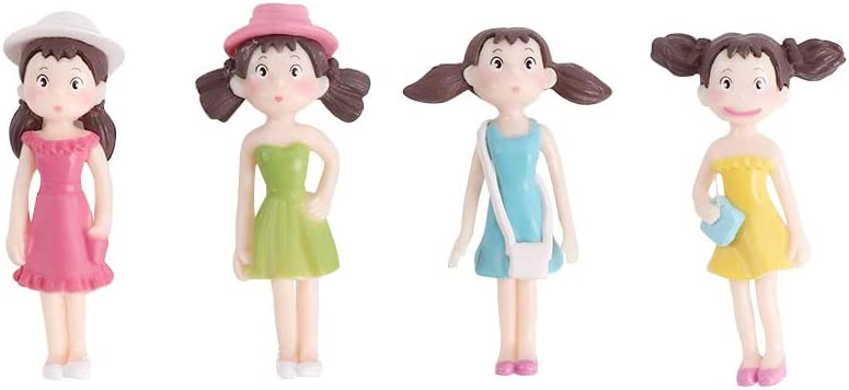 VITAKE Girls Terrariums PVC Dollhouse Fairy Classic Mail order cheap Moss Garden Dec Home