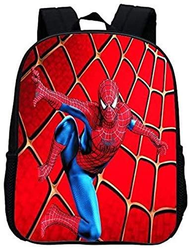 XWXBB Spiderman Cartable pour enfant Motif dessin...