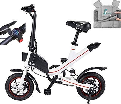 Bicicletas Eléctricas, Bicicletas eléctricas for adultos, Fat Tire Bicicleta plegable con 6.6Ah / 7.8AH batería de litio con estilo Ebiike, puede conmutar tres modos deportivos durante la conducción,