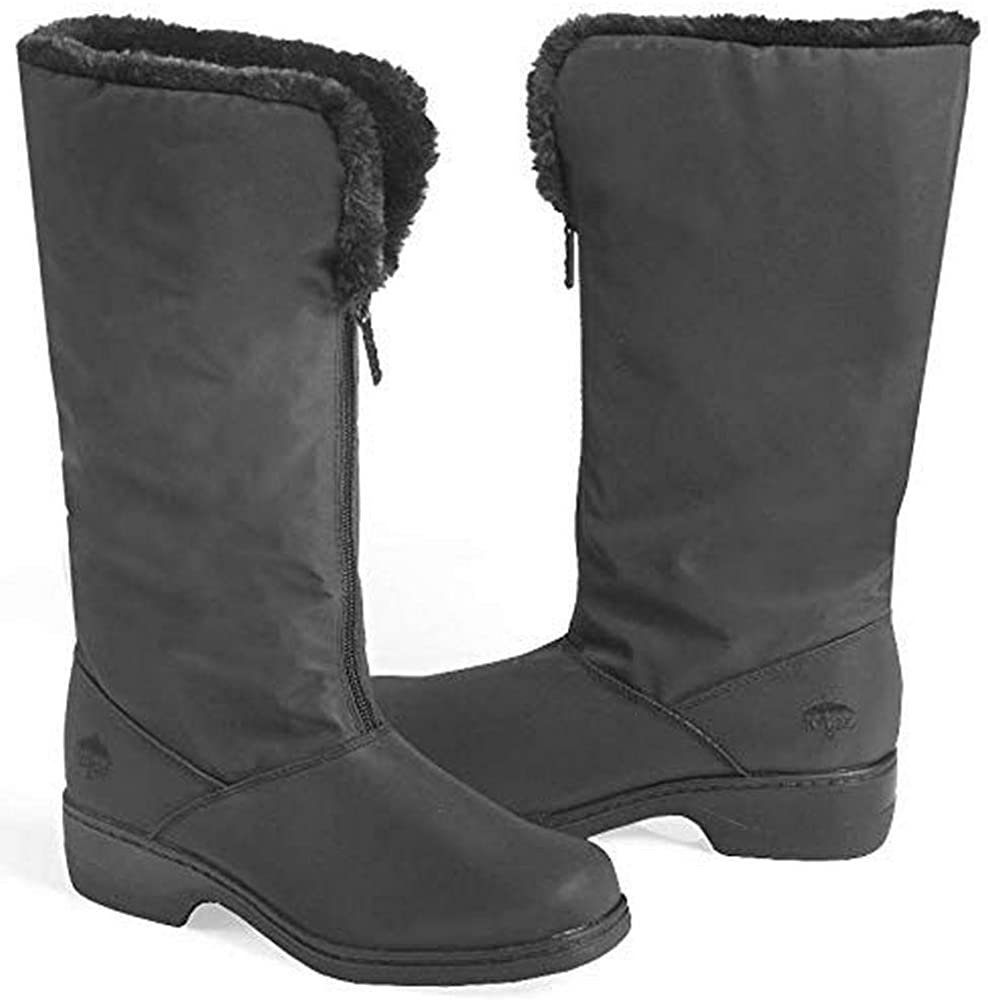 totes Women's Comfort Snow Boot, Black