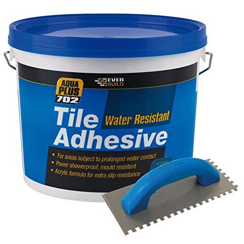 702 Water Resistant Tile Adhesive 7.5kg – Non Slip, Water Resistant...