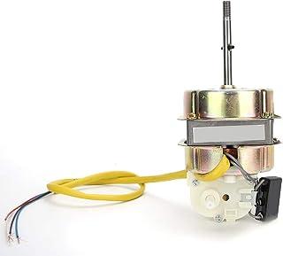Haofy 50Hz 55W 220V Motor del Ventilador Reemplazo Eje extendido Cable de Cobre Ventilador Motor del Ventilador Mesa eléctrica del Piso Motor del Ventilador Condensador Ventilador Motor Accesorios
