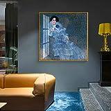 Mural de arte sobre lienzo, utilizado para imprimir imágenes de la decoración del hogar de la sala de estar o del hotel 50x50cm