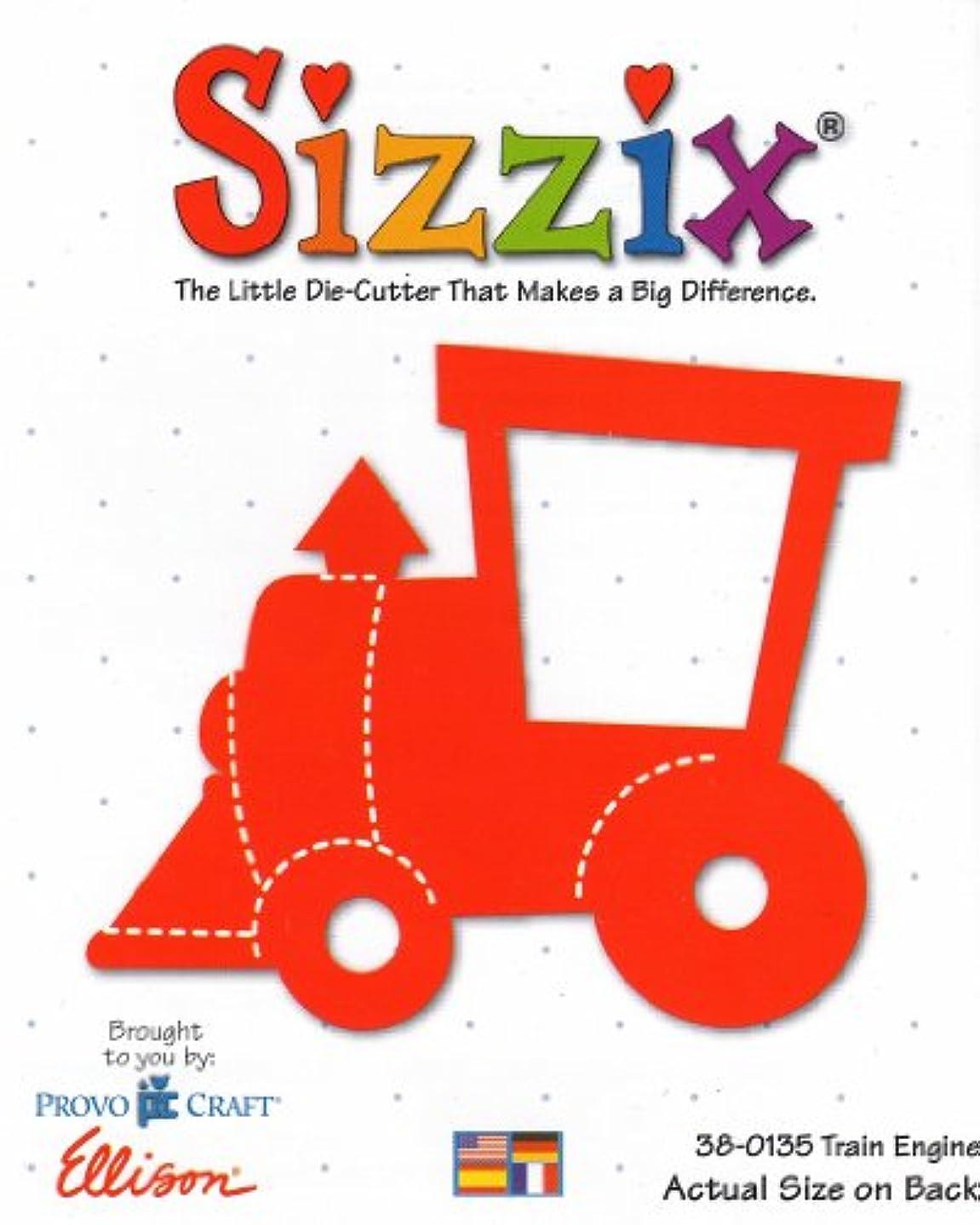Sizzix TRAIN ENGINE Die Cut #38-0135