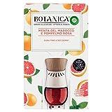 Air Wick Airwick Botanica, Diffusore Elettrico Di Fragranza, 1 Kit + 1 Ricarica, Menta Del Marocco & Pompelmo Rosa - 19 ml