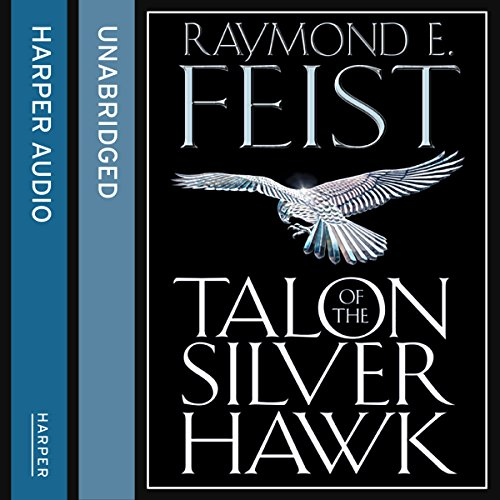 Talon of the Silver Hawk audiobook cover art