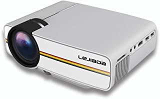 """Home Cinema Projector,LCD Home Theater Projector 30,000 Hours Led Life Maximum 138"""" Display Support 1080p Hdmi/Vga/USB/Sd/..."""