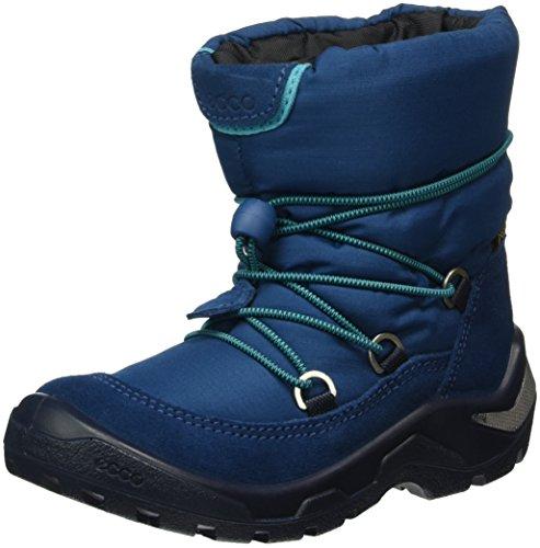 Ecco Baby Jungen Snowride Lauflernschuhe, Blau (Poseidon/POSEIDON50139), 30 EU