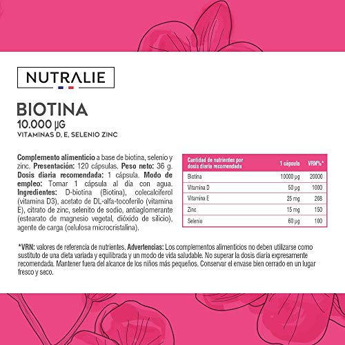 Nutralie Biotin Complex 10.000 mcg