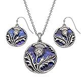 Talbot Fashions Tide Jewellery Inlaid Purple...