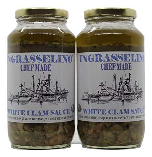 INGRASSELINO White Clam Sauce 24oz 2 pack