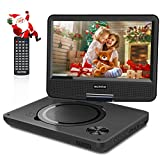WONNIE 9.5 Inch Portable DVD Player with Swivel Screen, USB / SD Slot