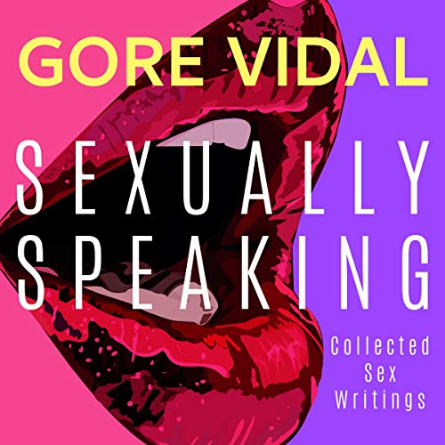 『Gore Vidal: Sexually Speaking』のカバーアート