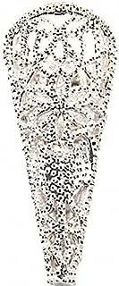Silver Filigree Boutonniere / Corsage Decorative Holder