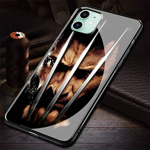 HZZAWDHL Cover iPhone 7 Plus Case/Cover iPhone 8 Plus Case Tempered Glass Phone Case The El der Sc Rolls V Skyrim R-159