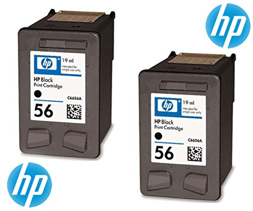 HP 56original Tintenpatronen in Folienverpackung (2 Stück)
