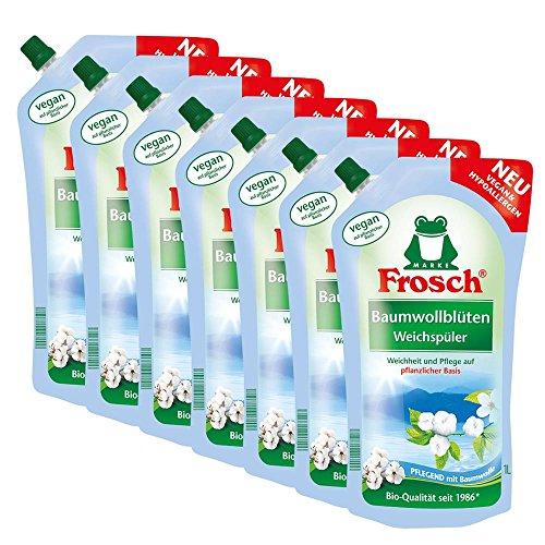 Ammorbidente ai fiori di Cotone Frosch, 7 x 1 litro