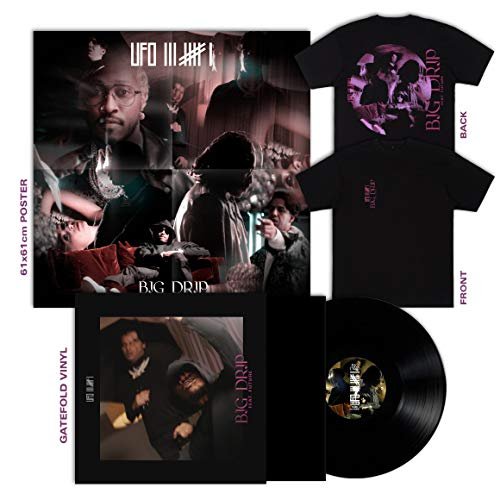 Big Drip feat. Future - Limited Vinyl Bundle (Gatefold LP, Shirt in L + Poster) [Vinyl LP]