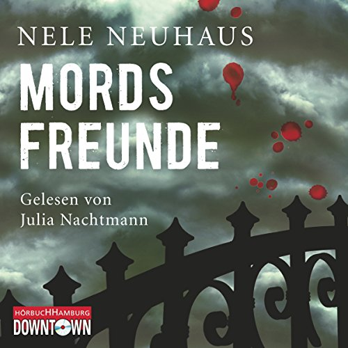 Mordsfreunde (Bodenstein & Kirchhoff 2) audiobook cover art