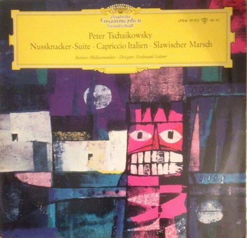Tschaikowsky. Nussknacker Suite. Capriccio Italien. Slawischer Marsch. Vinyl LP.