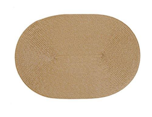 Stuco Trends Textiles Platzset, 100% Polypropylen, Caramel, 45 x 30 x 0.2 cm, 4-Einheiten