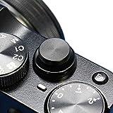 F-Foto ソフトレリーズシャッターボタン フラットタイプ 『各社カメラ対応』 (フラット、ブラック)