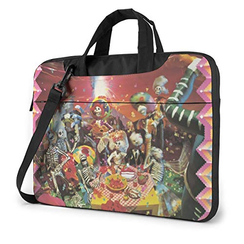 JINfjapafg Music Oingo Boingo Stylish Customized Laptop Shoulder Bag, Suitable for 13-15.6 inch MacBook Pro/Air and Most Other Laptops, Portable Laptop Bags, Briefcase Protective Covers