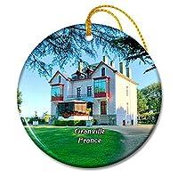 グランビルフランス美術館クリスチャンディオールクリスマスオーナメントセラミックシート旅行お土産ギフト