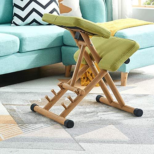 Kniestuhl Bürostuhl Hocker Computer-Haltung Unterstützung Möbel Stuhl Aus Holz Ergonomischer Stuhl Kniestühle Computerstuhl HUXIUPING (Color : Gray)
