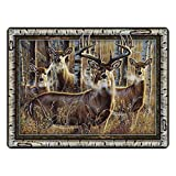 River's Edge Products Multi Deer Glass Cutting Board