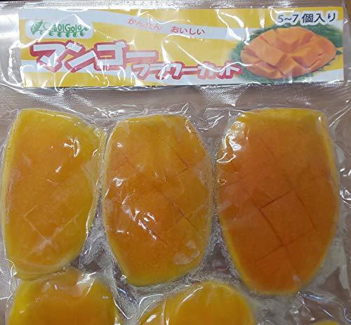 マンゴー フラワー カット 500g×20P( Pケ約70-100g ) 業務用 冷凍