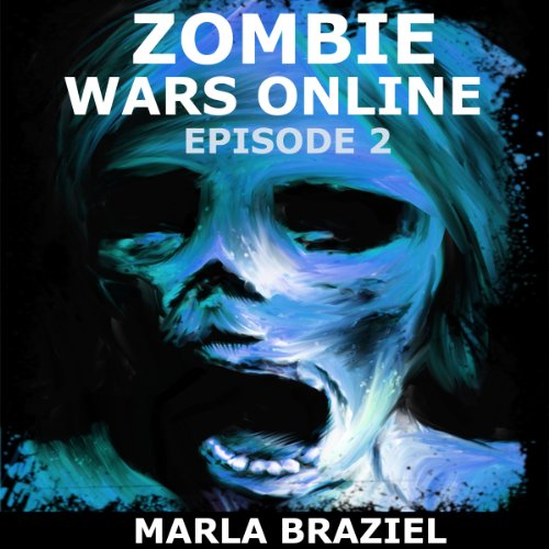 Zombie Wars Online audiobook cover art