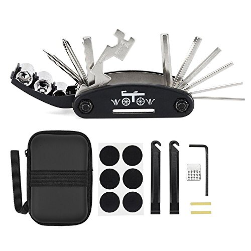 WOTOW Bike Repair Set Bag Bicycle Multi Function 16 in