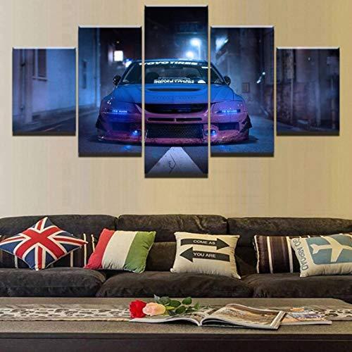 Cyalla Cuadro sobre Lienzo HD Impreso Modular Picture Wall A