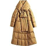 Damas por la chaqueta Chaqueta de la capa de salida larga ligera de las mujeres del fumador al aire libre Deportes Viajes Parka Prendas de abrigo Capa de la chaqueta de invierno al aire libre de las m