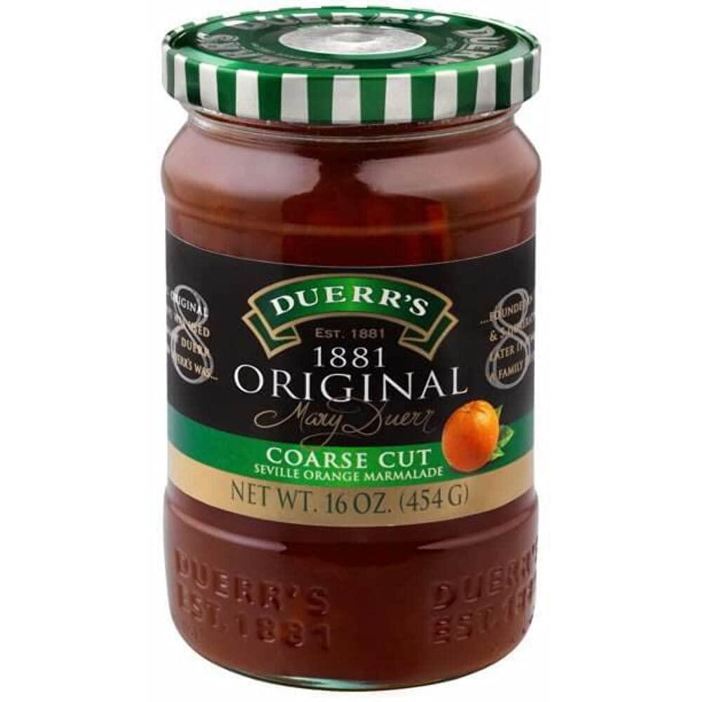 Duerr's free shipping Coarse gift Cut 1881 Orange Marmalade Seville 16oz