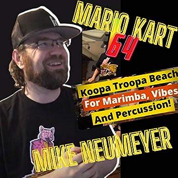 Mario Kart 64 Koopa Troopa Beach for Marimba, Vibes And Percussion!