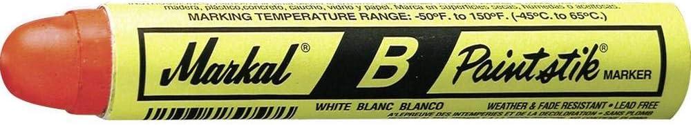 BLANCO BLANC MARKAL B PAINT STICK WHITE 80220 WHITE 2 PC LOT, 12 PER CASE