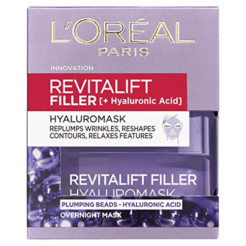 L'Oreal Paris Revitalift Filler Renew Hyaluronsäure Maske 50 ml