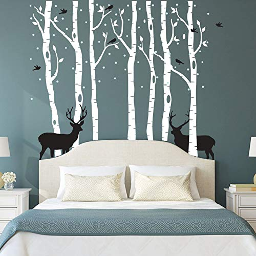 Fawn Forest Dormitorio Pared Pegatina Pared Decorativa De Pvc Pared Pegatina Amazon Cross-border Express Fuente Pared Pegatina De Pvc Extraíble Impermeable Deportes De Interior Bebé Eagle Amor Hogar