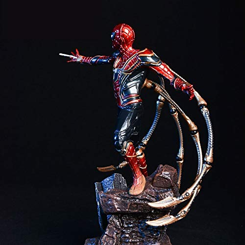 CLNAONG Model Action Figure, Spider Hero Statue KO Birthday Gift Model Decoration